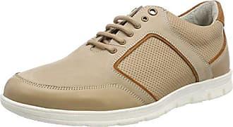 Manz Cremona, Zapatos de Cordones Oxford para Hombre, Beige (Beige/Hazelnut 531), 42 EU