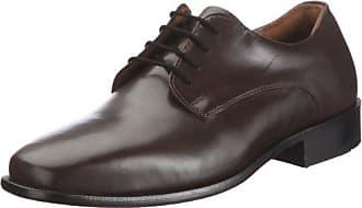 Manz - Chaussures À Lacets En Cuir Pour Les Hommes, Gris, Taille 47