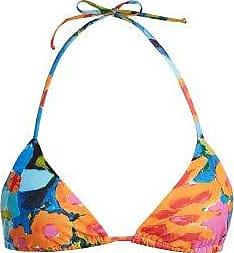 Prix Le Moins Cher Prise Mara Hoffman Haut de bikini triangle à imprimé graphique Jeu Abordable lcDotj