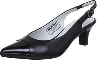 Marc Shoes 1.407.22-01/100-Marita, Damen Slingback Pumps, Schwarz (black 100), 37.5 EU (4.5 Damen UK)