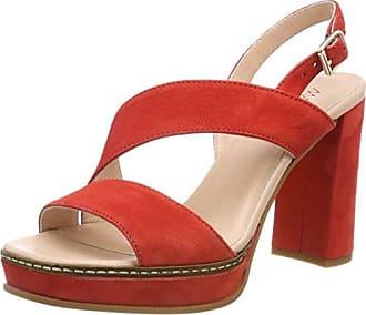 GB SG.10 L67, Sandalias con Plataforma para Mujer, Rojo (Candy Pink 213), 36 EU Marc Cain