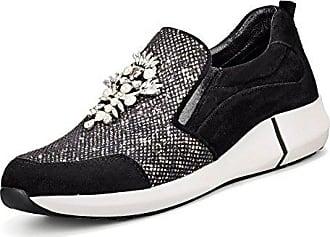 Marc Cain Sneaker, Groesse 36, Schwarz