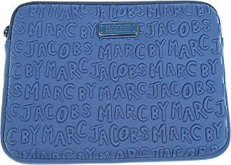 Ipad, Cas D'ipad, Bleu Azur, Cuir, 2017, Taille Universelle Marc Jacobs