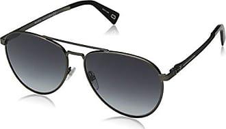 Womens Marc 102/S J3 3YG Sunglasses, Light Gold/Grey Slvsp Degr, 62 Marc Jacobs