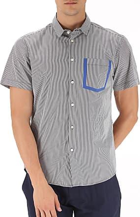 T-Shirt for Men On Sale, Blue, Cotton, 2017, S Marc Jacobs