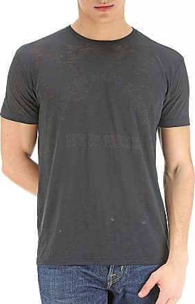 Camiseta de Hombre Baratos en Rebajas, Azul Oscuro, Algodon, 2017, L XS Marc Jacobs