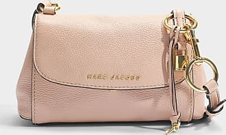 The Boho Grind Crossbody Tasche aus hell Slate Kuhleder Marc Jacobs HNta8Pd