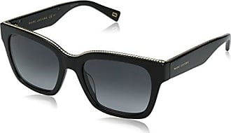 Marc Jacobs Damen MMJ 203/S Rechteckig Sonnenbrille, Blue Frame/Gradient Grey