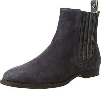 Flat Heel 70814235001108, Chelsea Boots Femme, Schwarz (Black), 37 EUMarc O'Polo