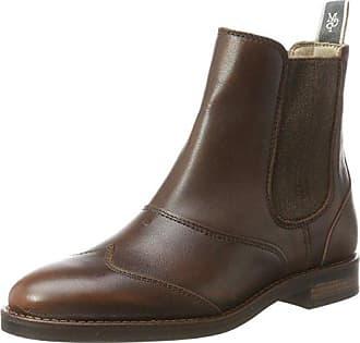 Flat Heel 70824105001108, Chelsea Boots Homme, Marron Foncé, 42 EUMarc O'Polo