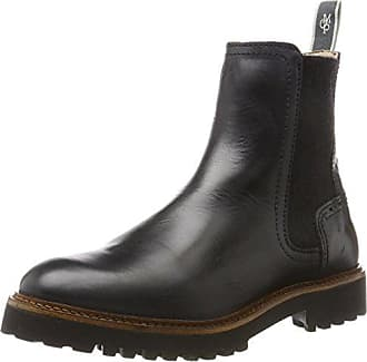 60811585001122, Chelsea Boots Femme, Rouge (Bordo 375), 41 EUMarc O'Polo