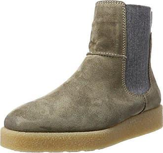 Marc O'Polo Flat Heel Bootie 80114076001300, Bottes Souples Femme, Beige (Camel 705), 38.5 EU