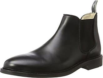 Flat Heel 70914295001127, Chelsea Boots Femme, Schwarz (Black), 41 EUMarc O'Polo