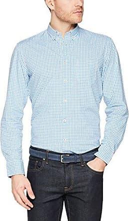M23742841138, Camisa Casual para Hombre, Blau (Airblue 802), XL Marc O'Polo