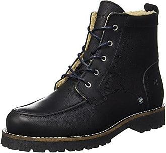 Marc O'Polo Flat Heel Bootie 70814236301108 Bottes à Lacets, Schwarz (Black), 40.5 EU