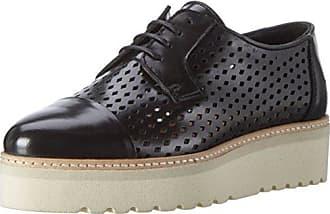 Biancolaced Jja16 Up Chaussures Robe - Chaussures À Lacets Pour Les Femmes, Noir (10 / Noir), Taille 38 Eu