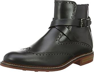 Marc O' Polo High Heel Loafer 70814172301110, Bottes Classiques FemmeNoirSchwarz (Black)