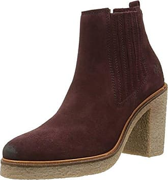 Marc O'Polo 60813535201300 High Heel, Chelsea Boots Femme, Gris (Dark Grey 930), 41 1/3 EU