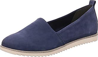 Geox D Elidia Dk Navy, Schuhe, Flache Schuhe, Stoffschuhe, Blau, Female, 36