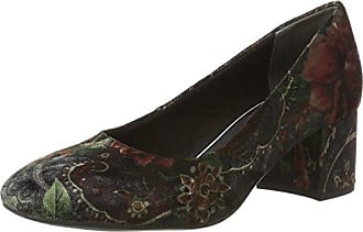 3-302106, Zapatos de Cuña Mujer, Multicolor (Türkis/Weiss), 39 EU Hassia