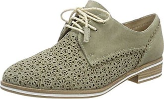 Marco Tozzi 23621, Zapatos de Cordones Oxford para Mujer, Beige (Dune), 36 EU