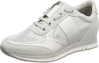 Damen 25210 Hohe Sneaker, Grau (Lt.Grey Comb), 38 EU Marco Tozzi