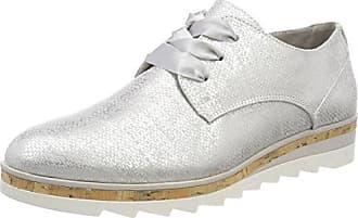Marco Tozzi 23621, Zapatos de Cordones Oxford para Mujer, Beige (Dune), 40 EU