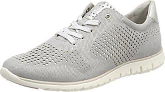 23700, Zapatillas para Mujer, Plateado (Silver Comb), 42 EU Marco Tozzi