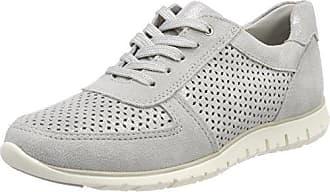 Marco Tozzi 23708, Zapatillas para Mujer, Gris (Dkgrey STRP), 39 EU