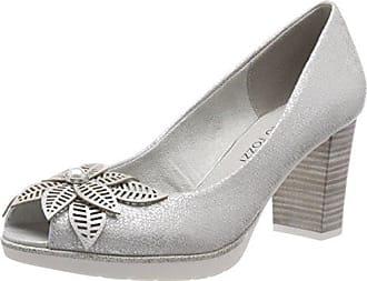 Marco Tozzi 22428, Zapatos de Tacón para Mujer, Verde (Mint 768), 36 EU