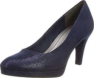 22404, Escarpins Femme, Bleu (Navy Metallic), 40 EUMarco Tozzi
