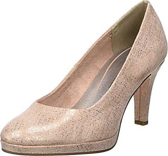 22436, Escarpins Femme - Rose - Pink (Rose Comb 596), 39Marco Tozzi