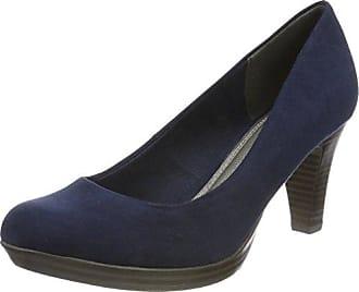 22417, Zapatos de Tacón para Mujer, Negro (Black Patent), 37 EU Marco Tozzi