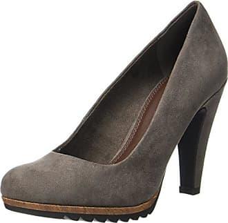 Marco Tozzi 22455, Zapatos de Tacón para Mujer, Marrón (Pepper Antic), 38 EU