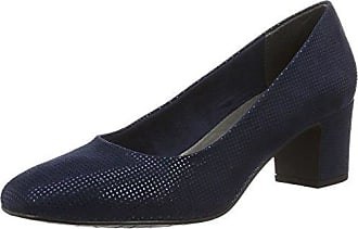 Marco Tozzi Damen 22425 Pumps, Blau (Navy Metallic 824), 37 EU