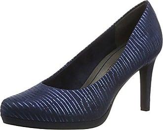 22424, Escarpins Femme, Bleu (Navy Pat.Comb), 39 EUMarco Tozzi