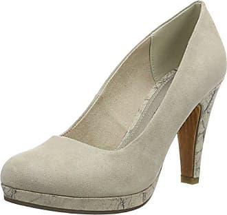 22409, Zapatos de Tacón para Mujer, Beige (Dune 404), 36 EU Marco Tozzi