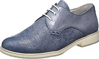 23713, Oxfords Femme, Bleu (Navy Patent 826), 37 EUMarco Tozzi