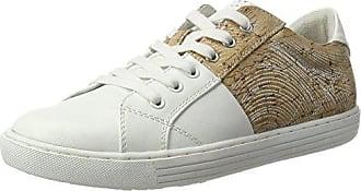 Marco Tozzi Damen 23605 Sneakers, Weiß (White/Silver 191), 39 EU