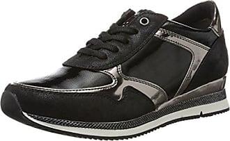 Damen 25220 Sneaker, Schwarz (Black Ant.Comb), 41 EU Marco Tozzi