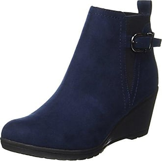 Sanita Botte Charlotta, Femmes Bottes, Bleu-blau (bleu Marine / Gris 29), 38 Eu