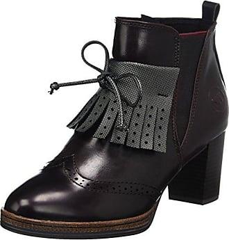 Damen 25123 Stiefel, Rot (Chianti A.C.), 41 EU Marco Tozzi