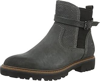 Damen 25440 Kurzschaft Stiefel, Grau (Grey Antic 212), 39 EU Marco Tozzi