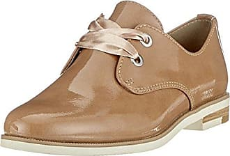Marco Tozzi 23201, Zapatos de Cordones Derby para Mujer, Azul (Navy Patent), 36 EU