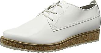 Remonte D2604, Zapatos de Cordones Oxford para Mujer, Blanco (Ice), 36 EU