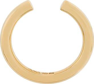 Maria Black Maria Black Woman 18-karat Gold Crystal Ring Gold Size 54 dxfB0c6o