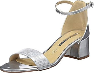 Mariamare Mara, Zapatos de Tacón con Punta Cerrada para Mujer, Plateado (Napa PU Metalic Plata), 41 EU Maria Mare