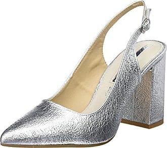 Mariamare Chanty, Zapatos de Tacón Mujer, Rojo (Velvet Burdeos), 36 EU Maria Mare
