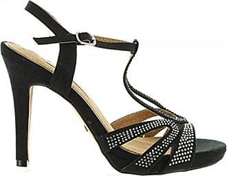 Sandalen für Damen 67170 C3889 Negro Schuhgröße 38 Maria Mare saswiW08