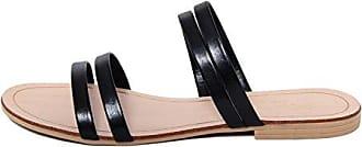 MARIELLA Damen - 8889_Nero_39 Flip-Flops Textil Schwarz FcvBfEni1